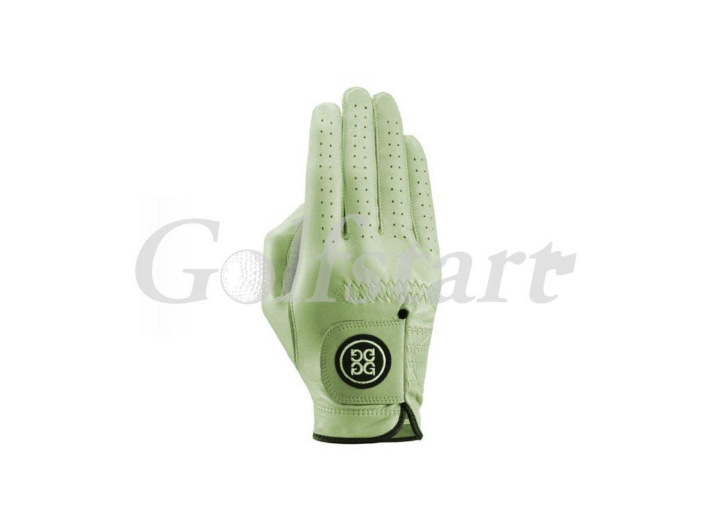 Dolce Gabana luxusní dámská kožená golfová rukavice mentolová