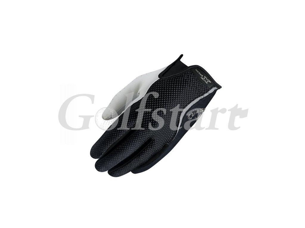 Callaway pánská golfová rukavice X-spann černá