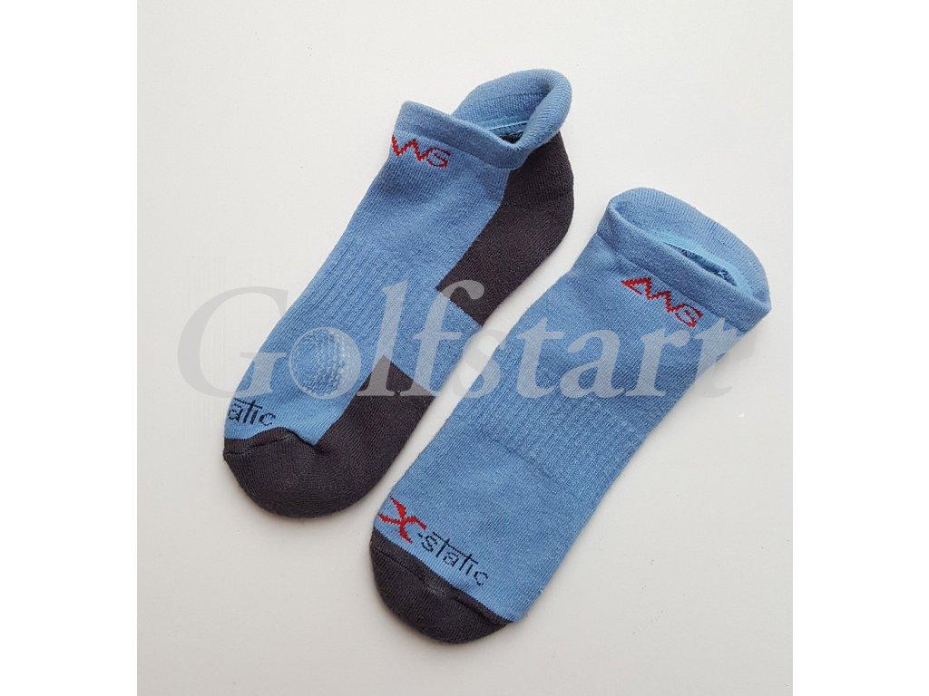 Ashworth dámské golfové ponožky modro černé