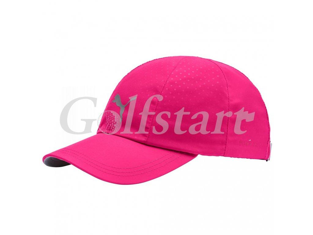 Puma Daily dámská golfová čepice růžová