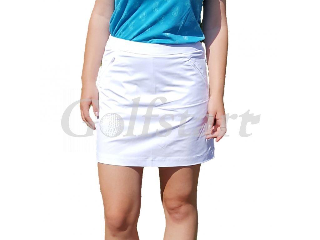 Tony Trevis dámská golfová sukně bílá