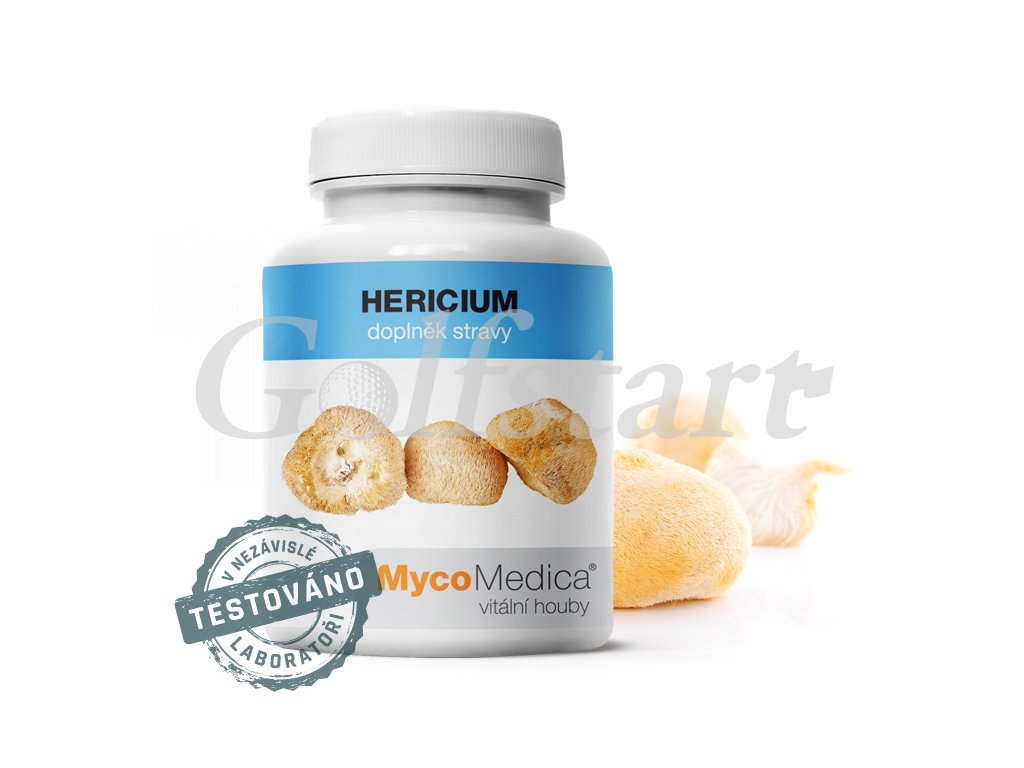 HERICIUM v optimání koncentraci 90 x 500mg