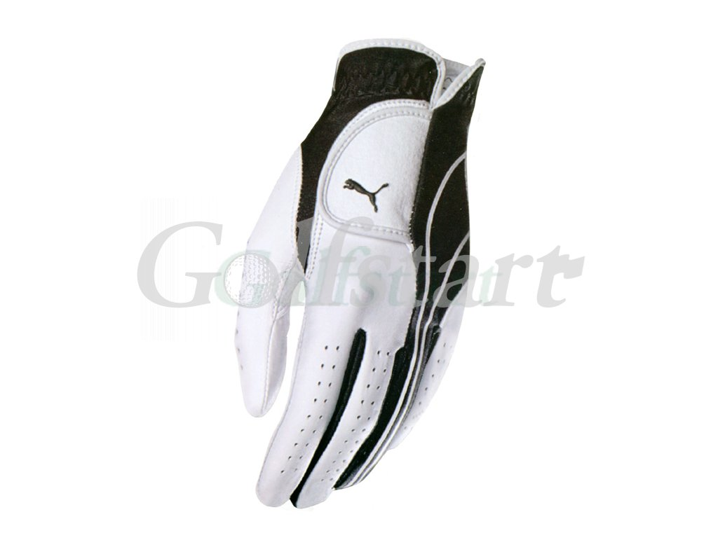 Puma glove wht blk