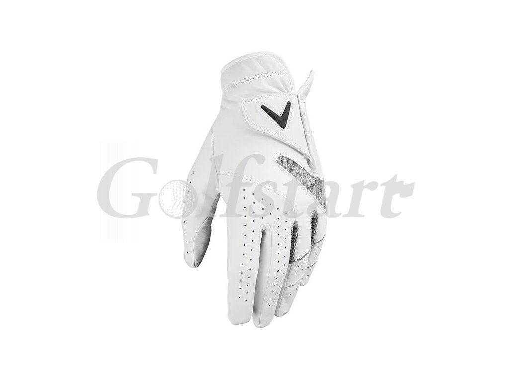 Callaway APEX TOUR pánská golfová rukavice bílá