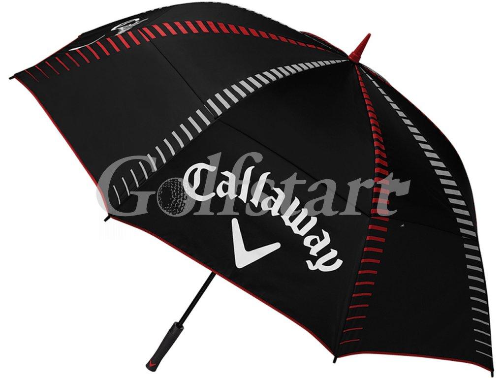 """Callaway golfový deštník s UV 50+ průměr 68"""" AUTO černý"""