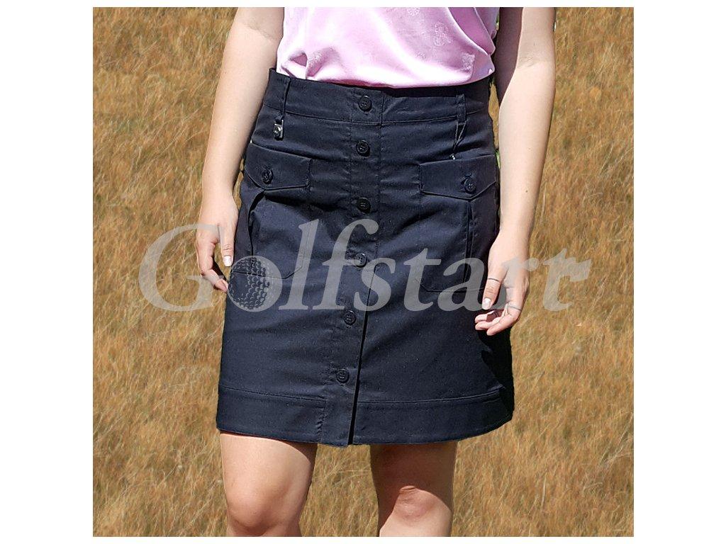 Röhnisch master dámská golfová sukně černá
