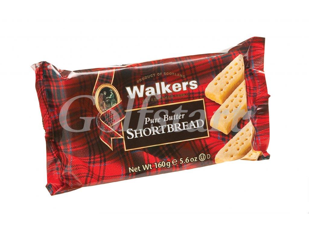 Walkers máslové sušenky Fingers v celofánu 160g