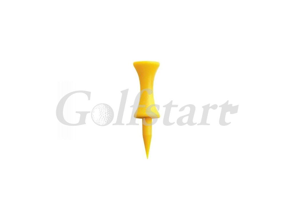 Plastová týčka - výška natýčkování 25mm - žluté