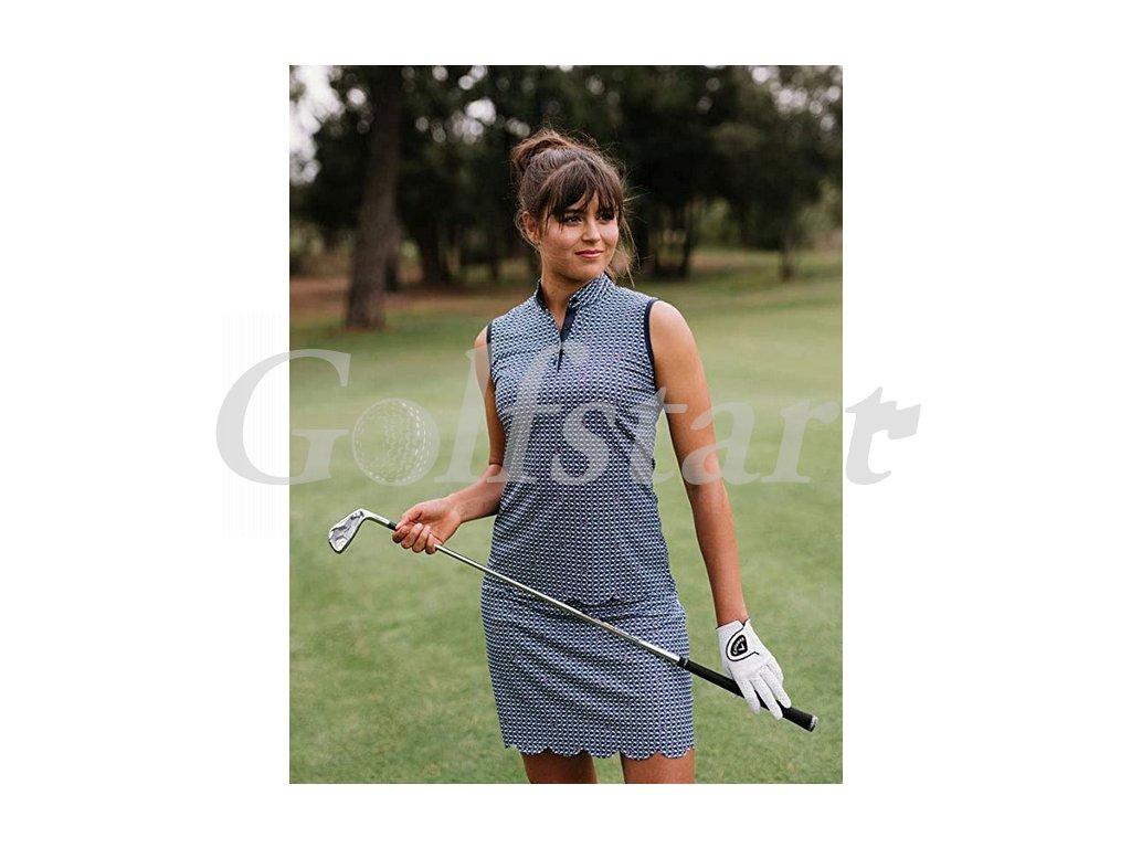 Dámské golfové tričko Callaway Flamingo