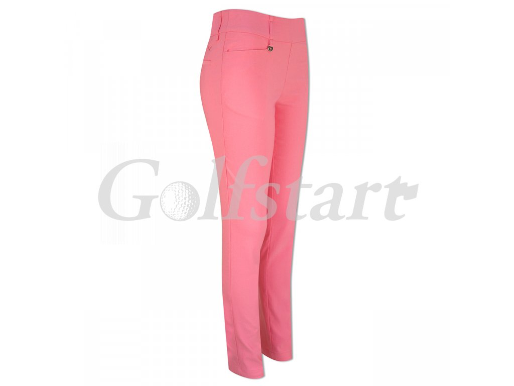 Callaway dámské golfové kalhoty barva camelia rose