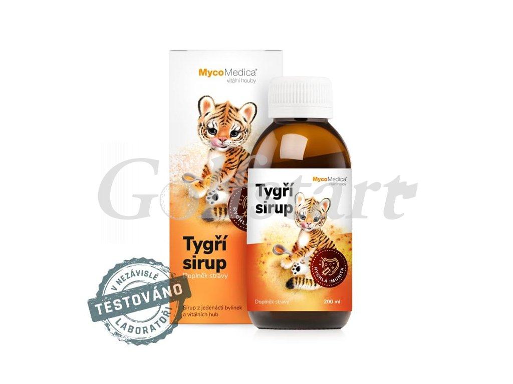 Mycomedica - Tygří sirup 200ml