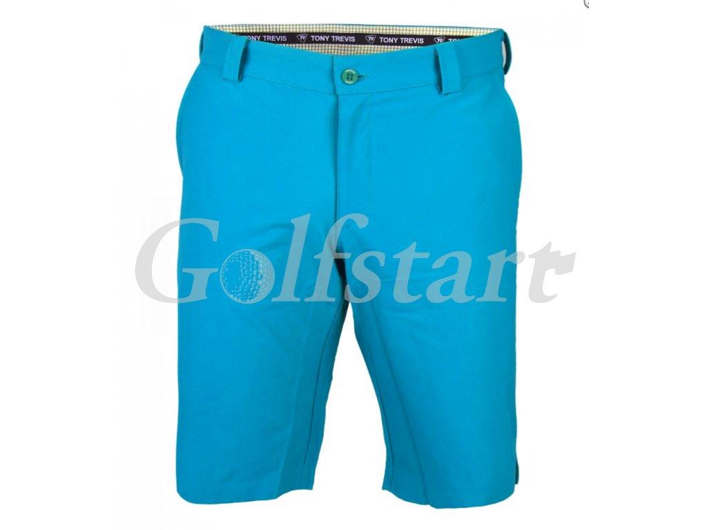 Tony Trevis pánské golfové kraťasy světle modré