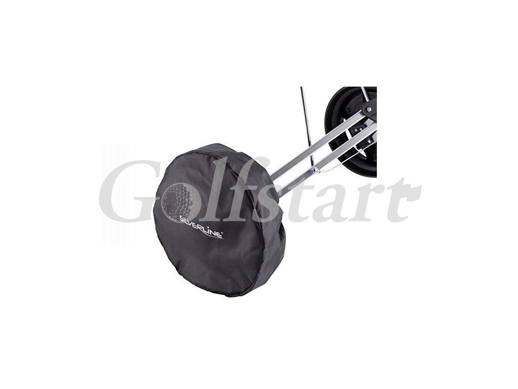 Silverline obal na kolečka golfového vozíku 2ks černé