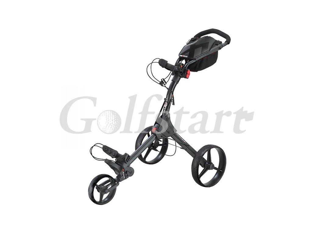 Golfový vozík BIG MAX  IQ+  černý