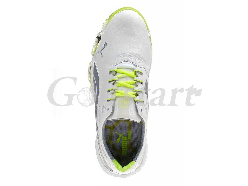 0b892af1dca Puma BIOFUSION pánské golfové boty bílo zelené - Golfstart.cz