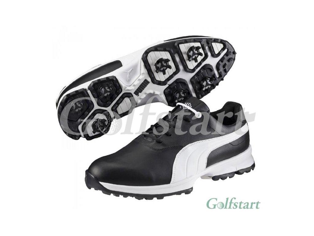 36f4e61ce58 Puma Golf Ace pánské golfové boty černo bílé - Golfstart.cz