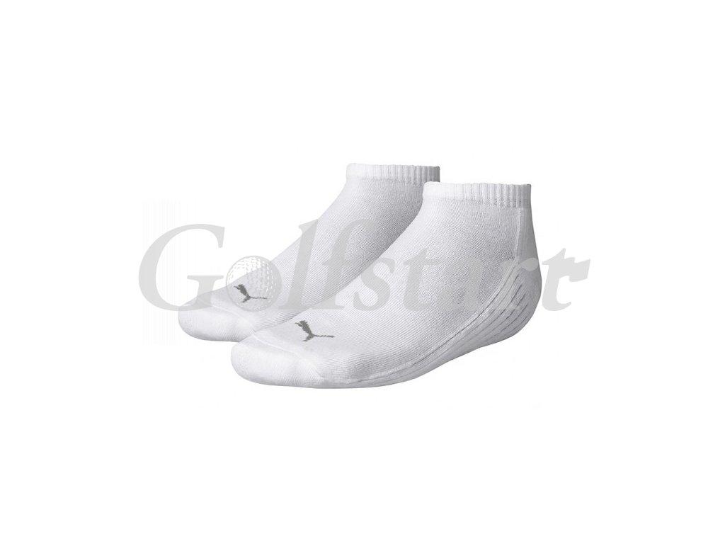 Puma pánské golfové ponožky Jump Sneakers bílé 2 páry