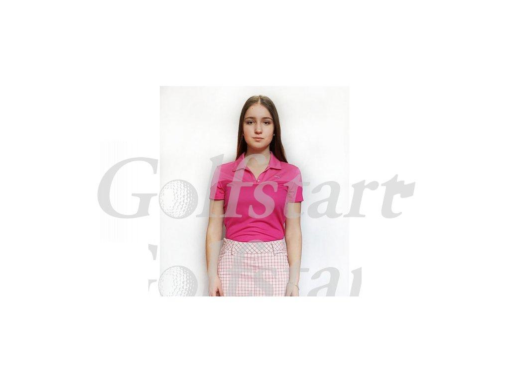 Puma dámské golfové tričko růžové