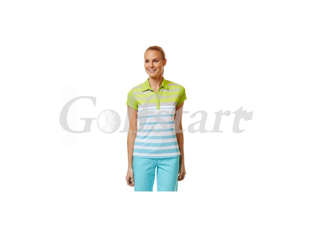 CGKS4041 Bold stripe polo1