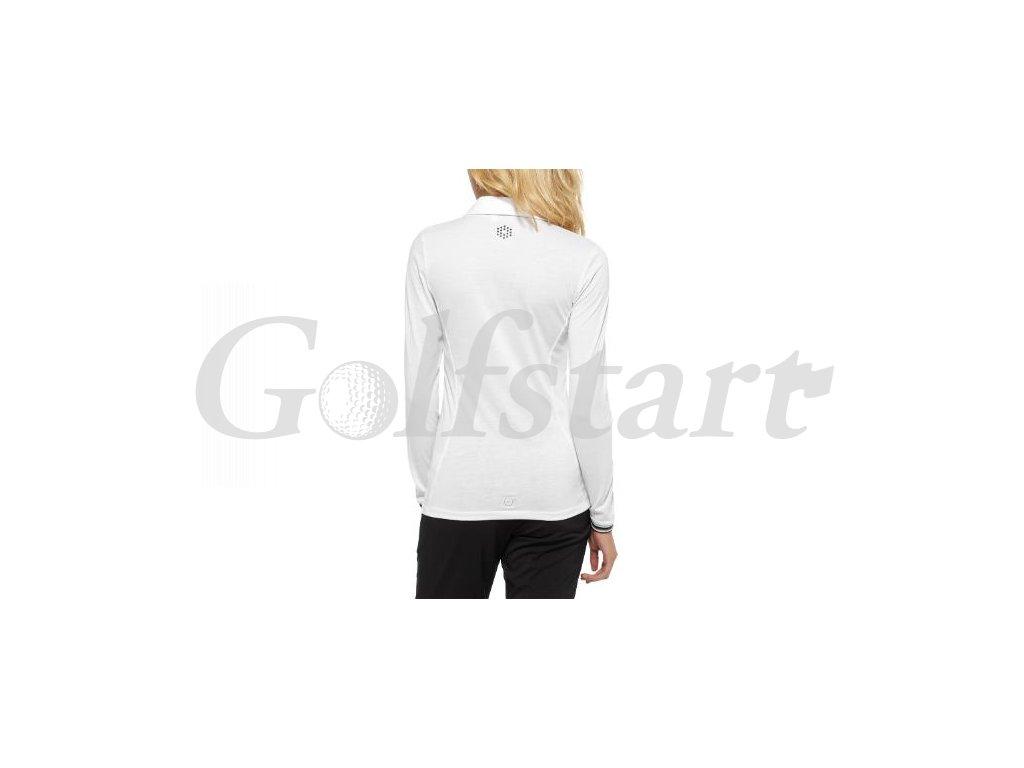 7e371bb93 Dámské golfové tričko Puma s dlouhým rukávem bílé - Golfstart.cz