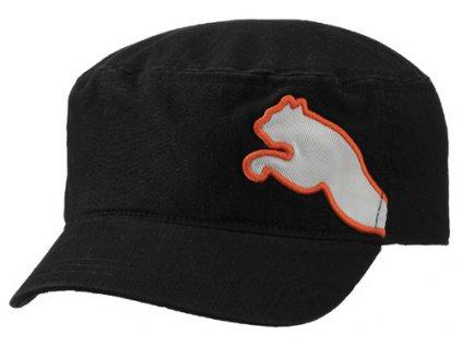 Puma Military golfová čepice černá - bílá puma