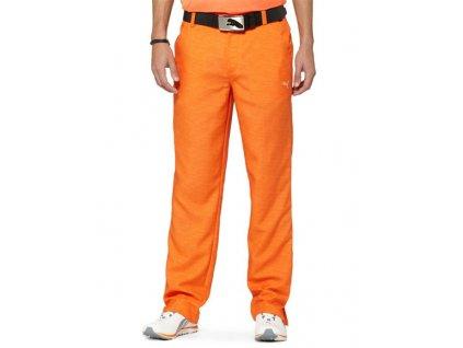 Puma Monolite pánské golfové kalhoty oranžové
