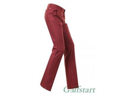 Callaway Corded Tech Pant pánské golfové kalhoty vínové