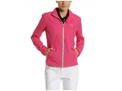 Puma dámská golfová bunda do větru - růžová