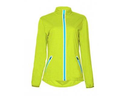 Callaway Full Zip Jacket dámská golfová bunda lime green