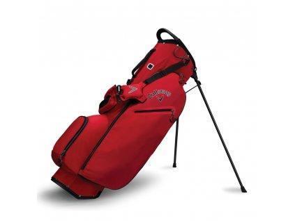 Callaway Hyper Lite ZERO stand bag červený