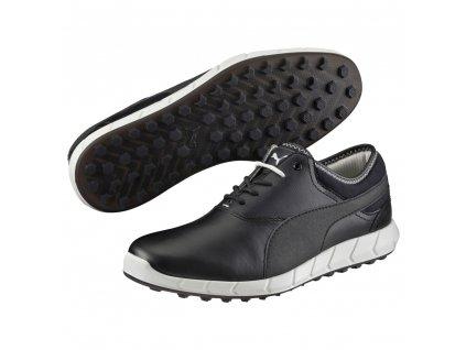 Puma Ignite pánské golfové boty bez spiků černé