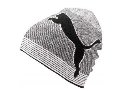 Puma oboustranný beanie černo/bílý