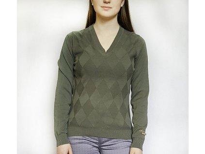 BackTee svetr green1