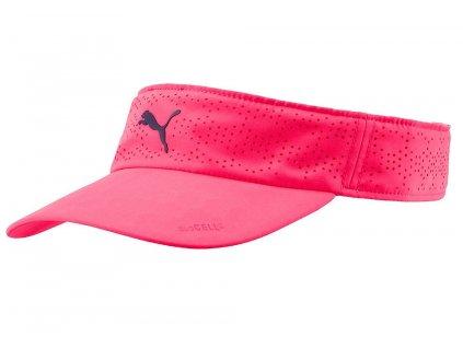Puma DuoCell dámský visor růžový