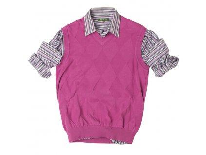 BackTee pánská golfová vesta - fialová