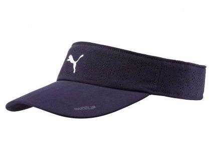 Puma DuoCell ultralehký dámský visor tmavomodrý
