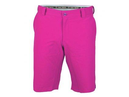 Tony Trevis pánské golfové kraťasy SlimFit fialové