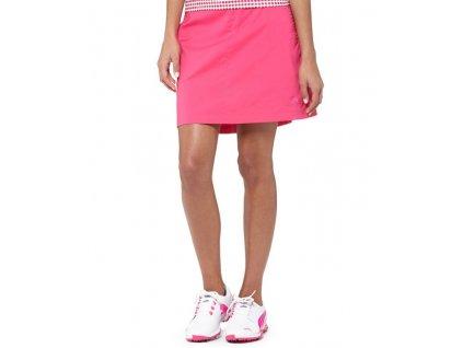 Puma Solid Tech dámská golfová sukně růžová