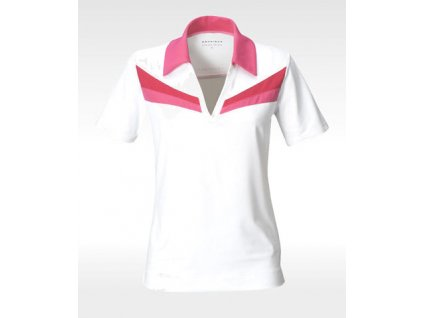 Röhnisch dámské golfové tričko - bílé