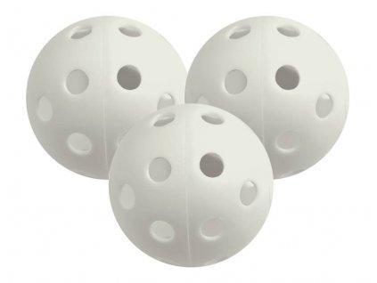 Longridge tréninkové plastové míčky bílé 6ks