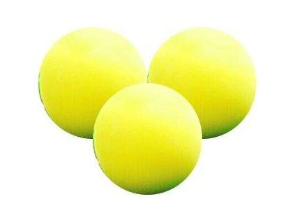 Longridge tréninkové pěnové míčky žluté 6 ks