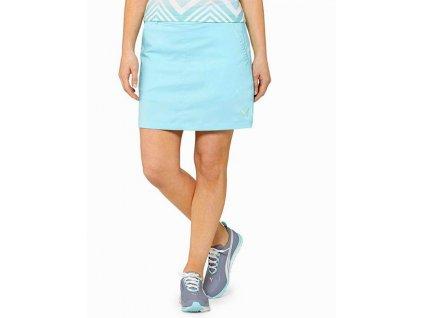 Puma dámská golfová sukně světle modrá