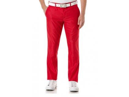 Callaway Corded Tech Pant pánské golfové kalhoty červené