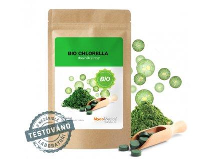 BIO Chlorella té nejvyšší kvality 1200 x 250 mg