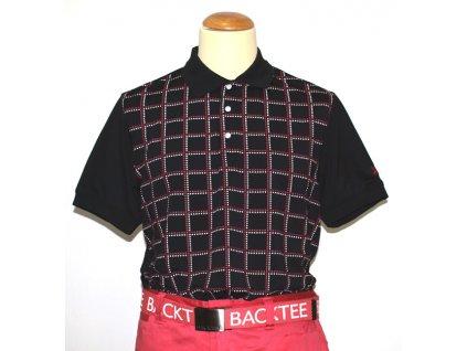 BackTee CoolPlus pánské golfové tirčko s kostkami černé