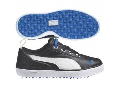 monilite mini junior golf shoes black