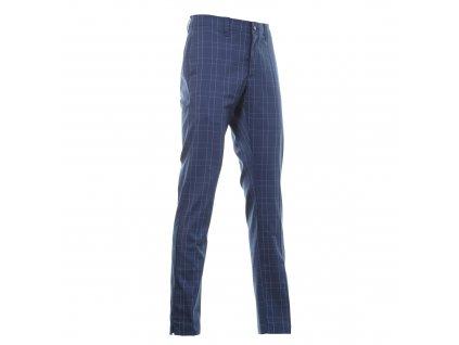 Callaway Glen Plaid pánské golfové kalhoty kostkované modré
