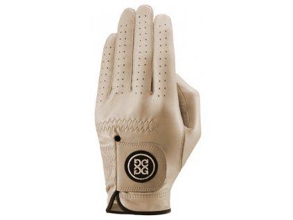 Dolce Gabana luxusní dámská kožená golfová rukavice béžová LEVÁ L