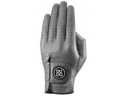 Dolce Gabana luxusní dámská kožená golfová rukavice šedá LEVÁ ML