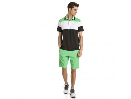 Puma Jackpot pánské golfové kraťasy zelené